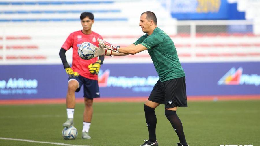 Hết bê bối khiêu khích thầy Park Hang Seo, HLV thủ môn Thái Lan dồn sức đấu SEA Games 30