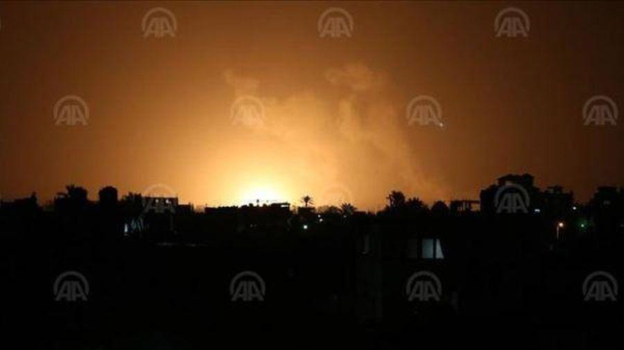 Chiến đấu cơ Israel dội bom ồ ạt Dải Gaza đáp trả cuộc tấn công tên lửa