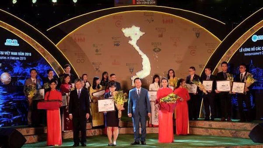 Bảo Việt (BVH): Top 10 Doanh nghiệp nền vững xuất sắc nhất Việt Nam 4 năm liên tiếp