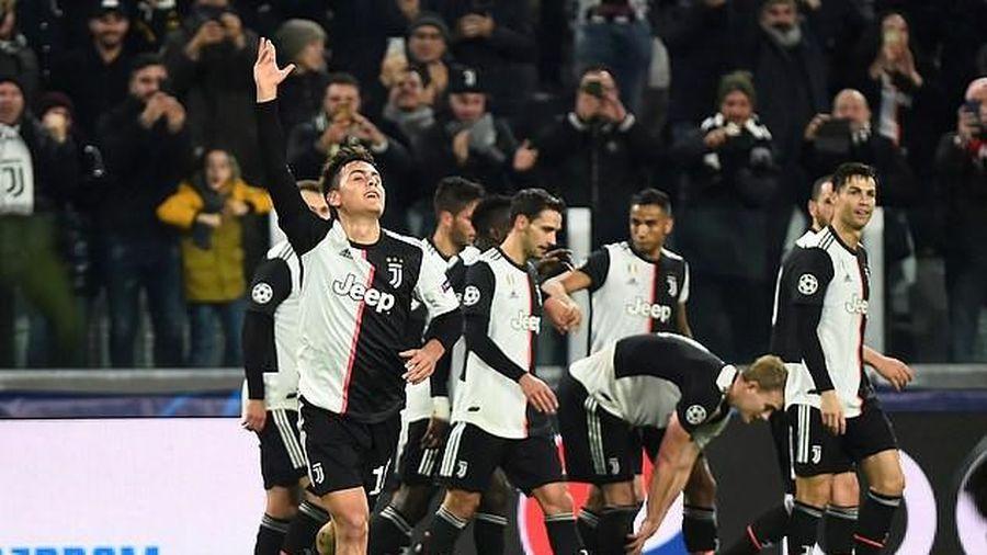 Man.City tiếp tục hòa, Juve thắng khó nhờ siêu phẩm của Dybala