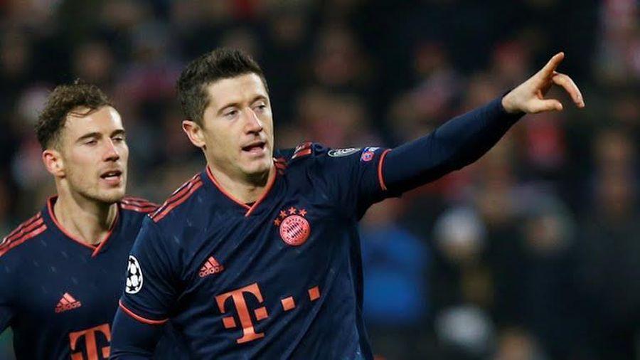 Lewandowski san bằng kỷ lục của Messi sau trận Bayern thắng 6-0