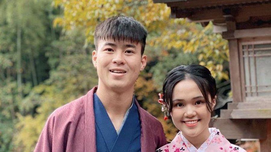 Duy Mạnh du lịch Nhật cùng bạn gái trước thềm SEA Games 30