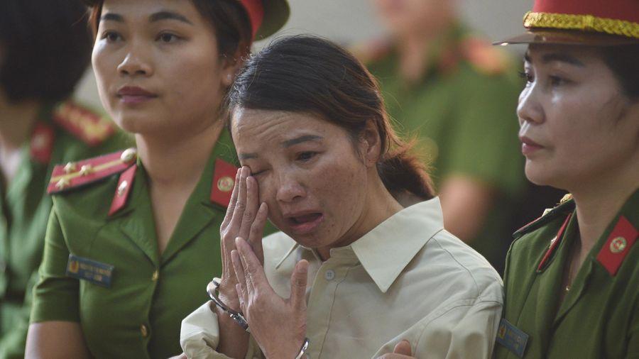 Mẹ nữ sinh bị sát hại: 'Dù chết cũng không có gì phải sợ'