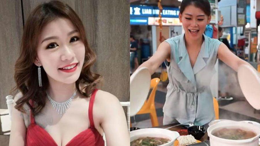 Cựu người mẫu Singapore nổi tiếng nhờ clip bán lẩu gà