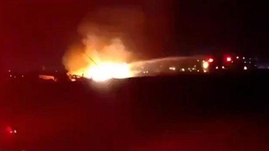 Trực thăng Israel bị tên lửa từ Gaza bắn hạ