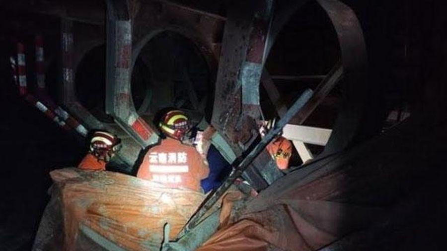 Sập hầm ở Trung Quốc, ít nhất bốn người thiệt mạng
