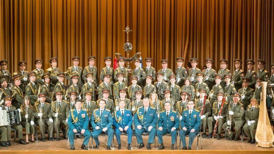 80 nghệ sĩ của Dàn nhạc Lực lượng Vệ binh Quốc gia Liên Bang Nga đến Việt Nam