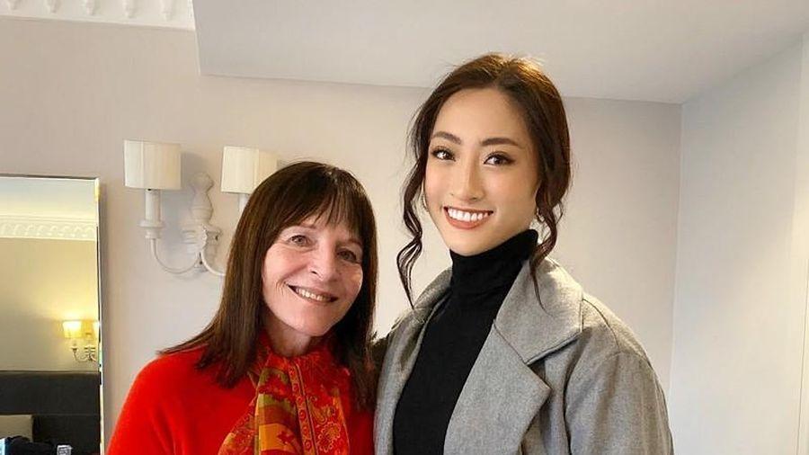 Lương Thùy Linh bất ngờ lọt 'mắt xanh' của nữ chủ tịch Miss World