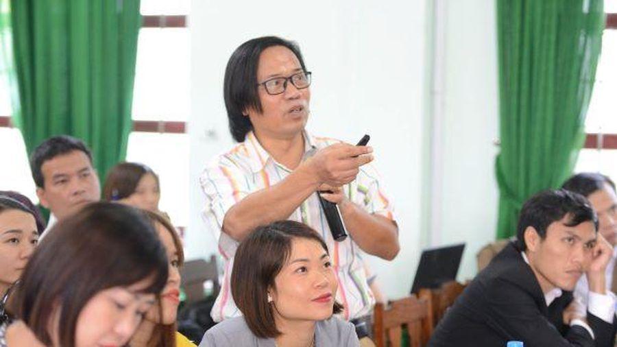 Quảng Bình: Tập huấn CTGDPT 2018 cho hơn 200 giáo viên cốt cán