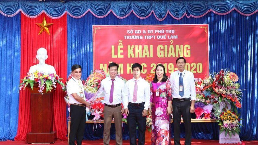 Trường THPT Quế Lâm, Đoan Hùng, Phú Thọ: 20 năm xây dựng và trưởng thành
