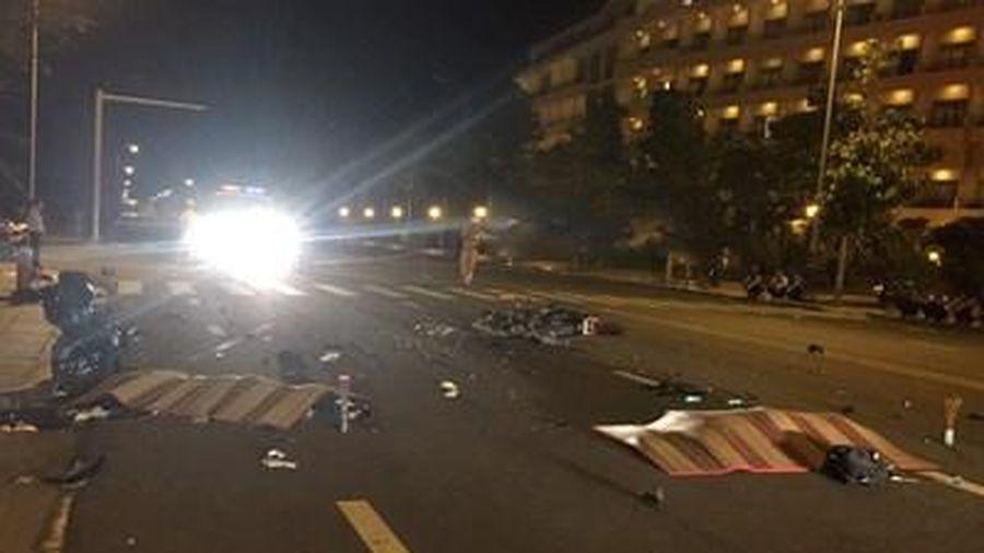 Xe máy đấu đầu cực mạnh, 2 thanh niên tử nạn