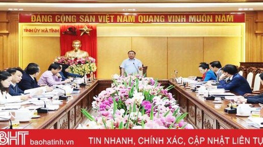 Tiếp tục dồn sức tạo động lực tăng trưởng mới cho Hà Tĩnh