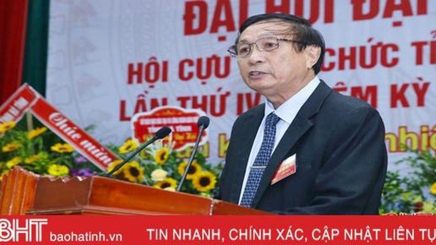 Ông Nguyễn Duy Tiệp tái cử Chủ tịch Hội Cựu giáo chức Hà Tĩnh