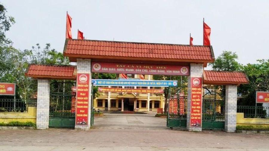 Hà Tĩnh: Vi phạm của một số tổ chức đảng và cán bộ gây hậu quả rất nghiêm trọng