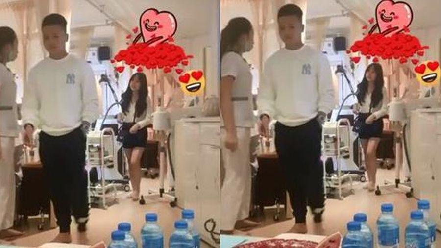 Một mực phủ nhận có người mới, Quang Hải lại bị quay lén đi làm đẹp cùng hotgirl cao 1m52