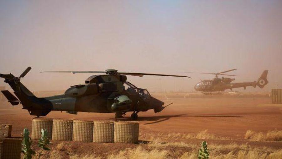Pháp tìm thấy hộp đen của hai trực thăng quân sự rơi ở Mali