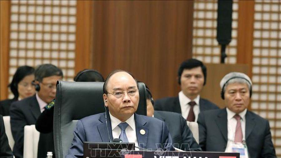 Thủ tướng Nguyễn Xuân Phúc dự Hội nghị Cấp cao Mekong - Hàn Quốc lần thứ nhất