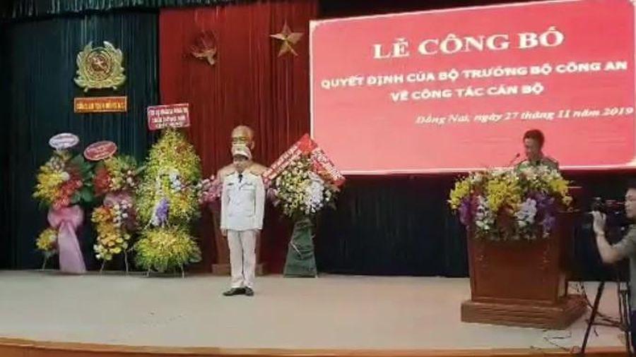 Đại tá Vũ Hồng Văn giữ chức Giám đốc công an tỉnh Đồng Nai