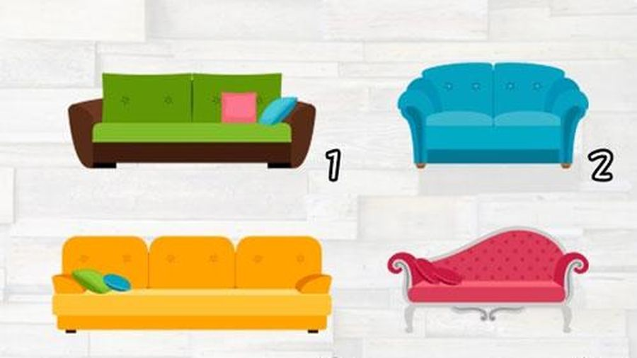 Trắc nghiệm: Chiếc ghế sofa bật mí điều gì về bản lĩnh của bạn?