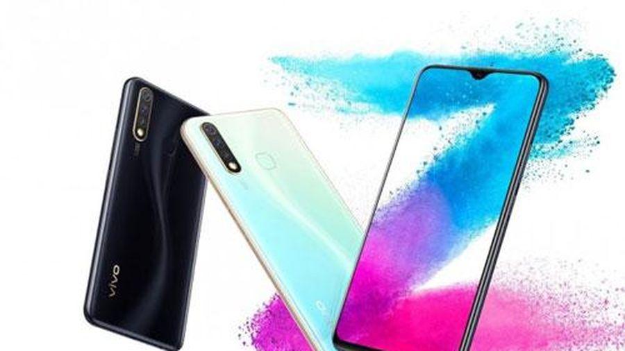 Vivo ra mắt smartphone 3 camera sau, chipS675, RAM 8 GB, pin 5.000 mAh, giá gần 6 triệu