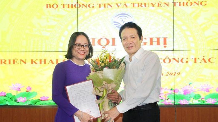 Bà Mai Hương Giang được bổ nhiệm Phó Cục trưởng Cục Báo chí