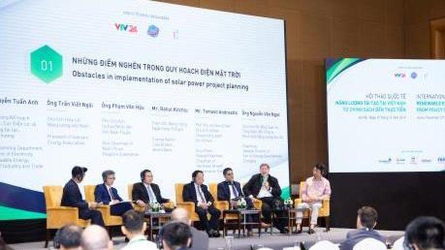 Giải quyết điểm nghẽn cho phát triển năng lượng tái tạo