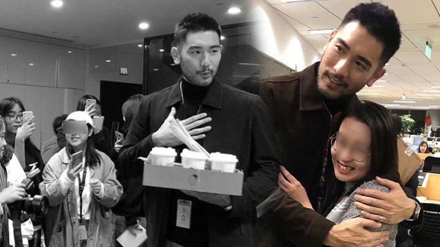Cao Dĩ Tường từng mua trà sữa cho cả tòa soạn Sina, làm điều đặc biệt với một biên tập viên nữ khiến ai cũng yêu quý