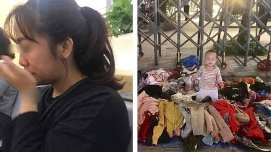 Mẹ đơn thân ra sông Hồng quyên sinh, con 3 tháng ôm ra vỉa hè bán quần áo