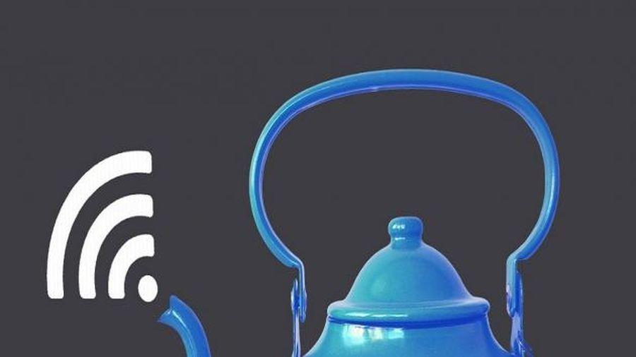 Xuất hiện ấm trà wifi, người dùng có thể vừa thưởng trà vừa lướt web