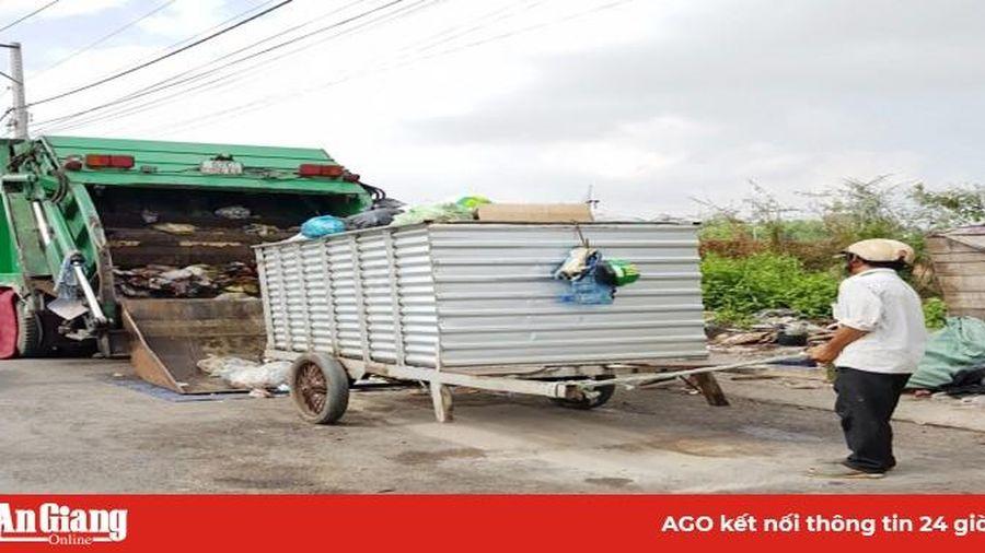 Xóa 7 bãi rác trung chuyển ở nội ô TP. Long Xuyên