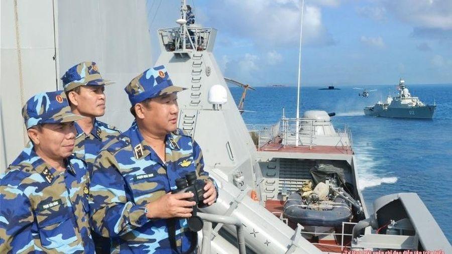 Hải quân Việt Nam được trang bị nhiều khí tài hiện đại
