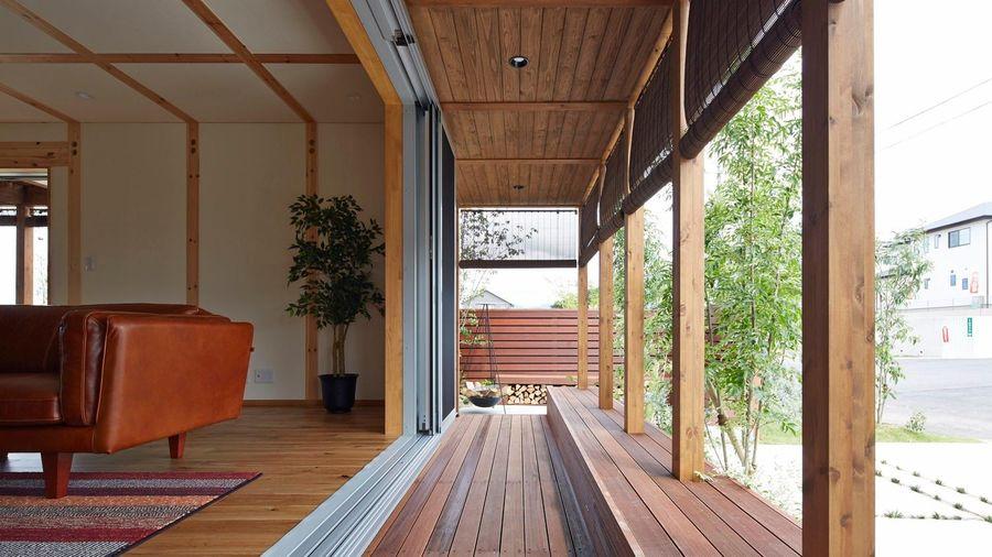 Ngôi nhà với nội thất đơn giản, dễ dàng thay đổi