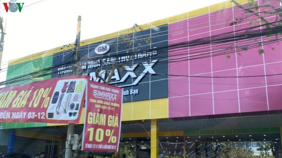 Chủ đầu tư Siêu thị Simmaxx tại Bà Rịa - Vũng Tàu liên tục sai phạm