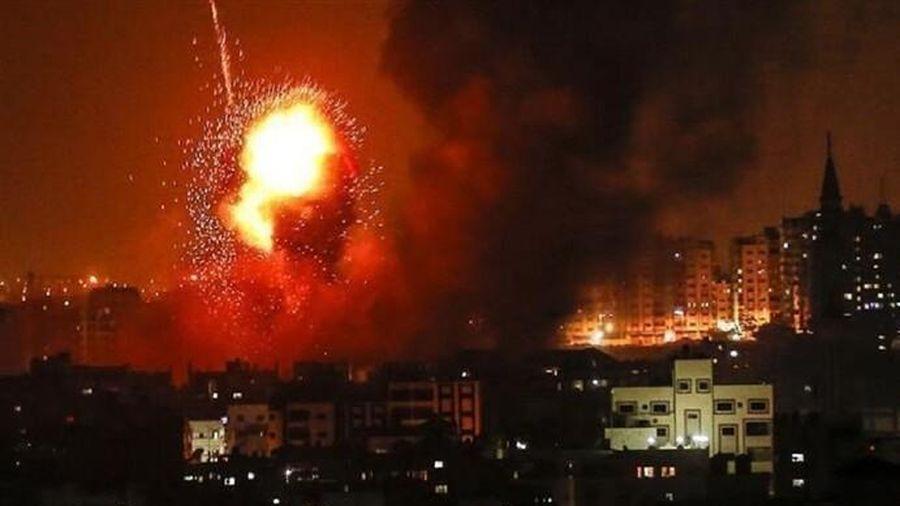 Israel tấn công đáp trả vụ bắn tên lửa từ Gaza