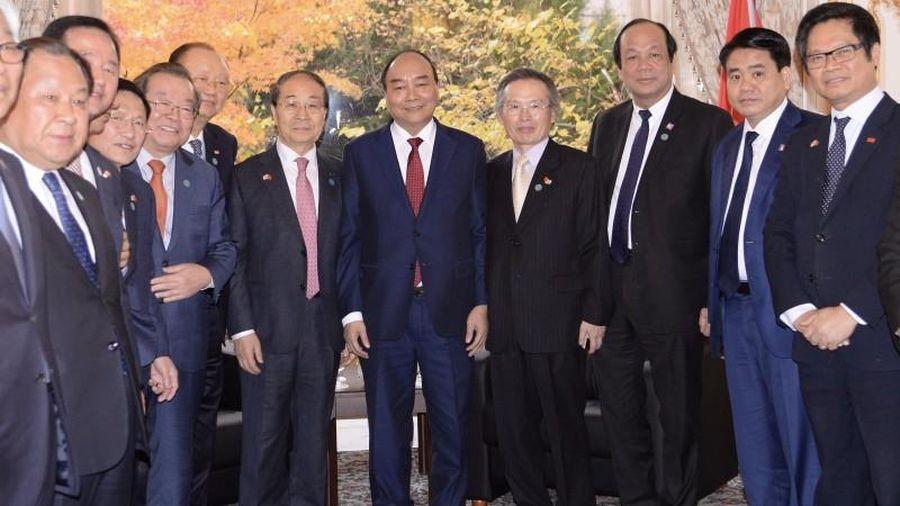 Thủ tướng tiếp Chủ tịch Hội Hữu nghị Hàn – Việt