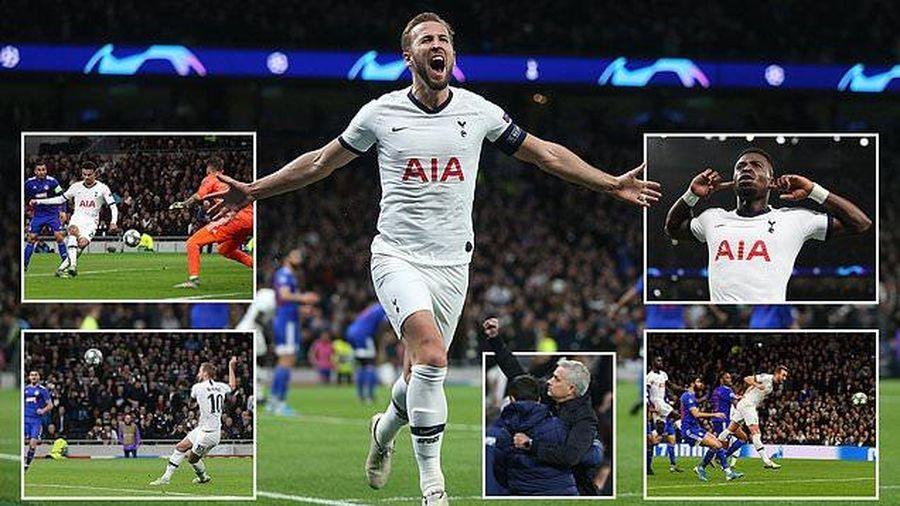 Tổng hợp Champions League 27/11: Real Madrid cầm tay PSG đi tiếp, Jose Mourinho thắng trận thứ 2 cùng Tottenham