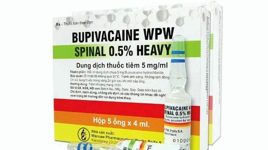 Ngừng sản xuất và sử dụng thuốc gây tê liên quan đến tai biến sản khoa ở Đà Nẵng