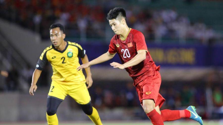 Trọng Hùng, Tấn Sinh tập riêng, U22 Việt Nam chỉ có 18 cầu thủ lành lặn