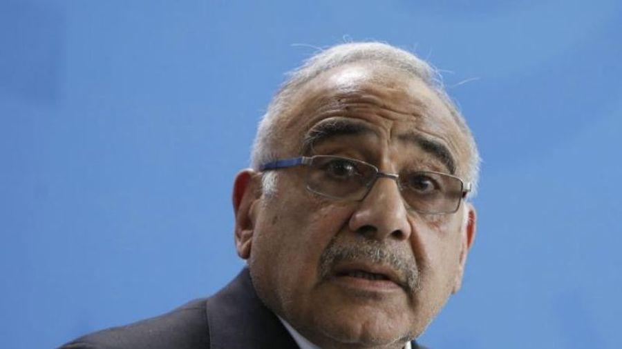 Thủ tướng Iraq từ chức giữa làn sóng biểu tình chống chính phủ