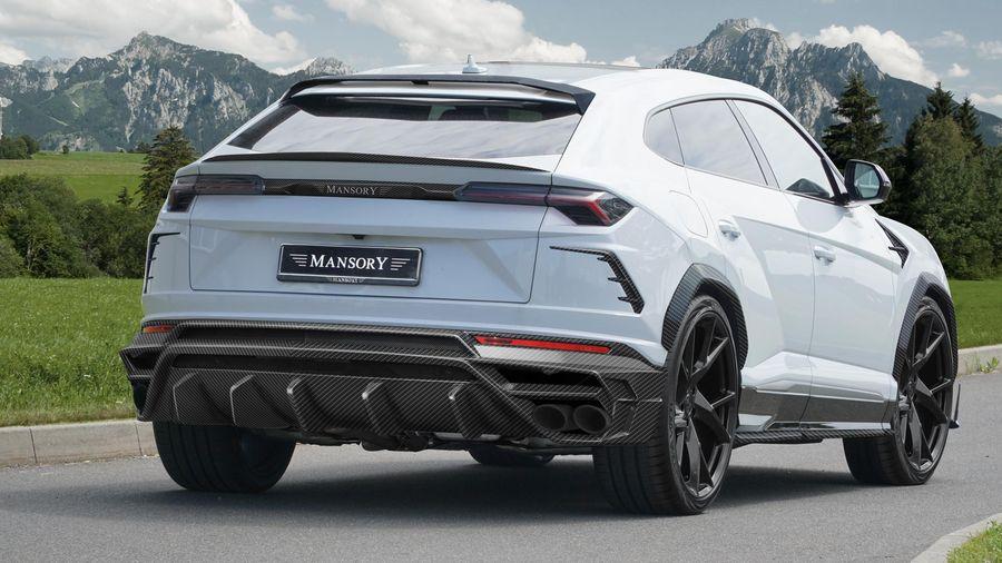 Gói nâng cấp nhẹ nhàng và hợp lý cho Lamborghini Urus ra mắt