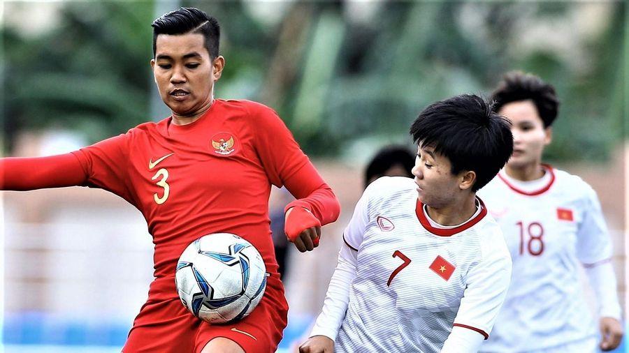 Tuyết Dung ấn định chiến thắng 6-0 cho tuyển nữ Việt Nam