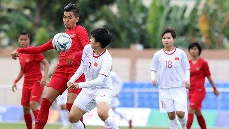 SEA Games 30: Thắng đậm Indonesia, đội tuyển nữ Việt Nam vào bán kết