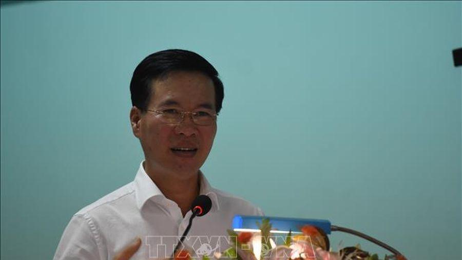 Trưởng ban Tuyên giáo Trung ương tiếp xúc cử tri tại thành phố Long Khánh, Đồng Nai