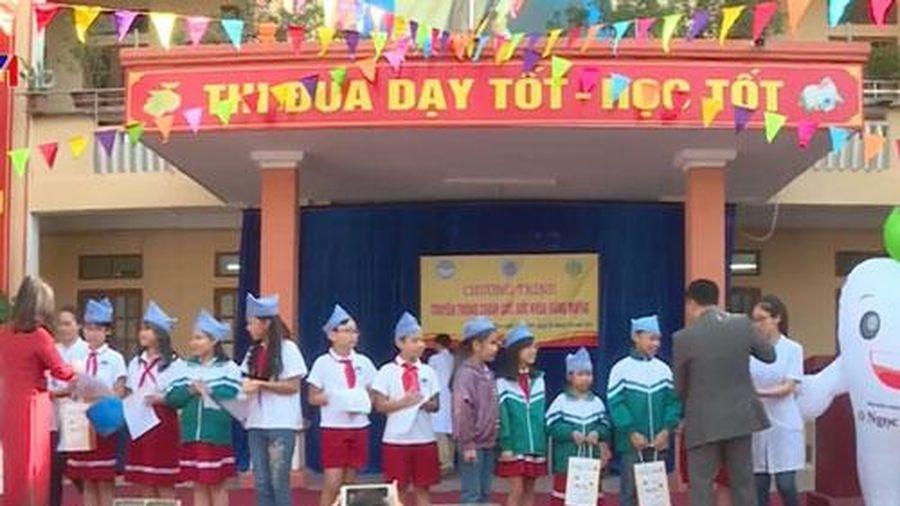50% trường học tại Việt Nam chưa có cán bộ phụ trách Nha học đường