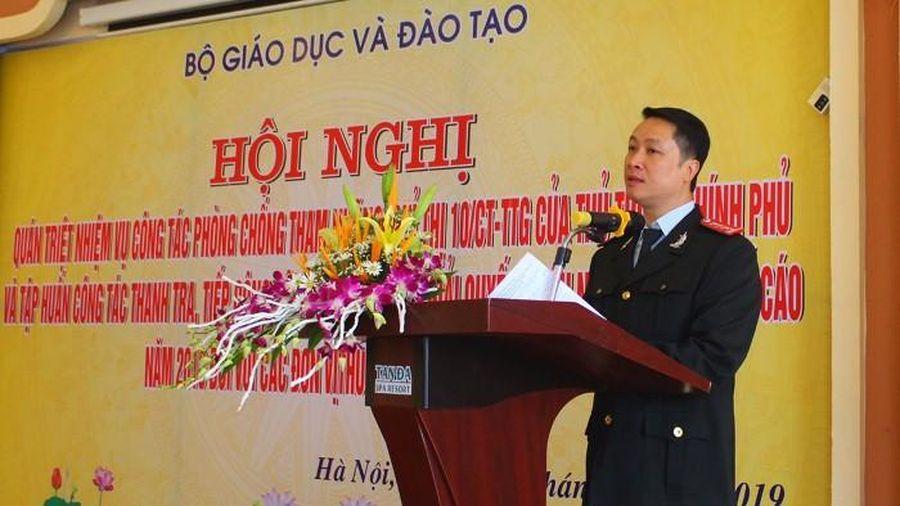 Bộ GD&ĐT: Tập huấn công tác thanh tra, giải quyết KN, TC
