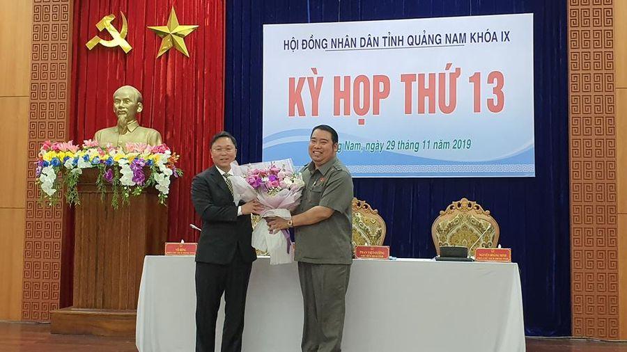 Ông Lê Trí Thanh được bầu giữ chức Chủ tịch UBND tỉnh