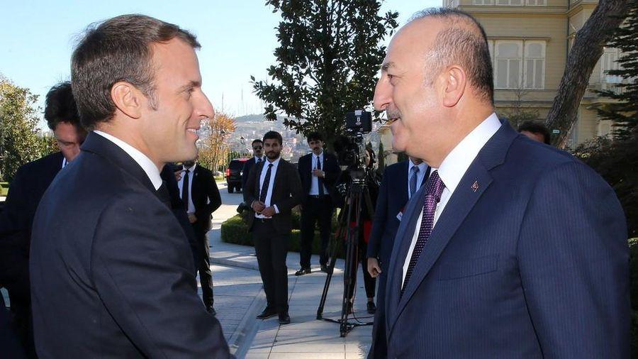 Lục đục nội bộ NATO: Tổng thống Pháp 'khẩu chiến' với Ngoại trưởng Thổ Nhĩ Kỳ