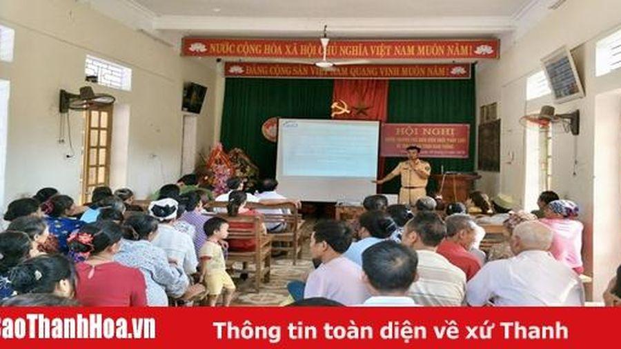 Huyện Vĩnh Lộc xây dựng nhiều mô hình bảo đảm trật tự, an toàn giao thông