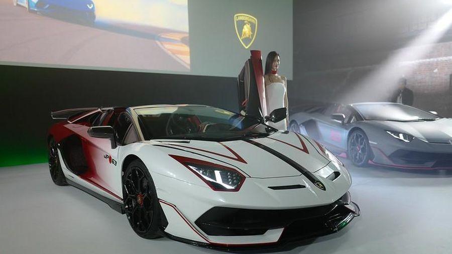 Lamborghini ra mắt SVJ Roadster đặc biệt tại Nhật Bản