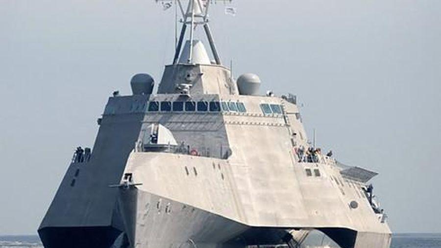 Khám phá chiến hạm của Hải quân Mỹ tuần tra, đảm bảo tự do hàng hải trên Biển Đông